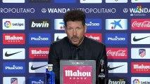 Simeone sobre Griezmann y su permanencia en el Atlético