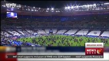 Chinese tourist describes events at Stade de France