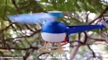 How to make Helicopter with Motor - DC Motor Electric Helicopter - EASY