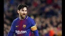 Messi completa 100 gols na Liga dos Campeões