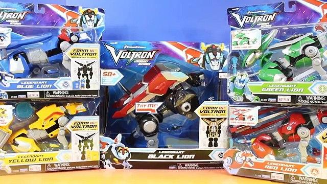 Voltron Legendary Defender 16 Figure 5 Legendary Lions Price Battles Power Rangers Megazord