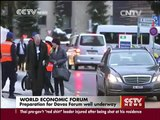 Live cross: Preparations for Davos Forum well underway