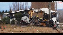 """Drame du bus de Millas :  """"Ce n'est pas un accident, ils ont été tués"""""""