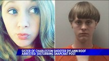 Sister of Charleston Church Shooter Dylann Roof Arrested