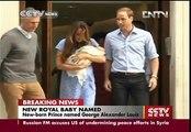 Royal baby prince named George Alexander Louis