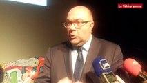 Vannes.  Crise du lait, dossier Doux  : le ministre de l' agriculture s'exprime en marge du congrès de la FNPL