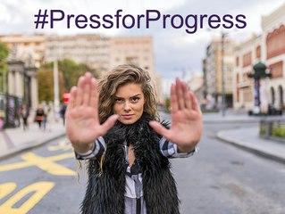 Web Seminar: International Women's Day 2018 #PressforProgress
