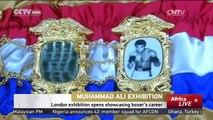 Muhammad Ali Exhibition: London exhibition opens showcasing boxer's career