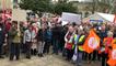 Manifestation des retraités et personnels d'Ehpad