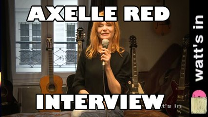 Axelle Red : Who's gonna help You Interview Exclu