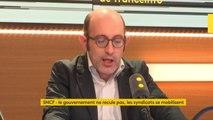 """Appel à la grève des cheminots : """"On n'est plus dans la logique du service public à l'ancienne. On est en train de passer à la transformation de la #SNCF en une entité financière rentable"""", explique Frédéric Farah, économiste #lesinformes"""