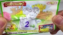 Киндеры Сюрпризы Unboxing Kinder Surprise Eggs распаковка игрушек из киндеров 2007