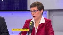 """Election au PS : """"Il faut faire le bilan du quinquennat Hollande pour retrouver de la crédibilité vis-à-vis des Français : sur la déchéance de nationalité, sur les choix budgétaires"""", déclare Sophie Taillé-Polian, soutien de Luc Carvounas #TEP"""
