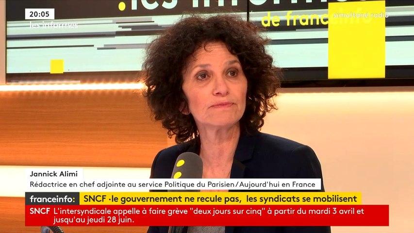 """SNCF : """"On ne se dirige pas vers un blocage de la France"""", estime la journaliste Jannick Alimi"""
