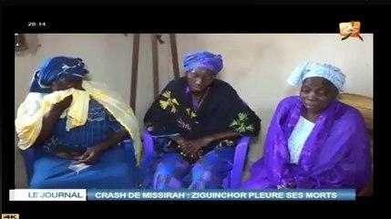 (Vidéo) Crash hélicoptère à Missira : réaction de la famille de l'une des victimes !
