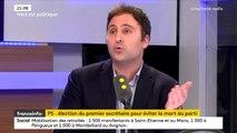 """Parti socialiste : """"Une part de nous-mêmes est morte mais nous pouvons renaître"""" affirme Eduardo Rihan Cypel"""
