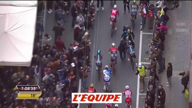 Le dernier kilomètre commenté par Alaphilippe - Cyclisme - Milan San-Remo 2017