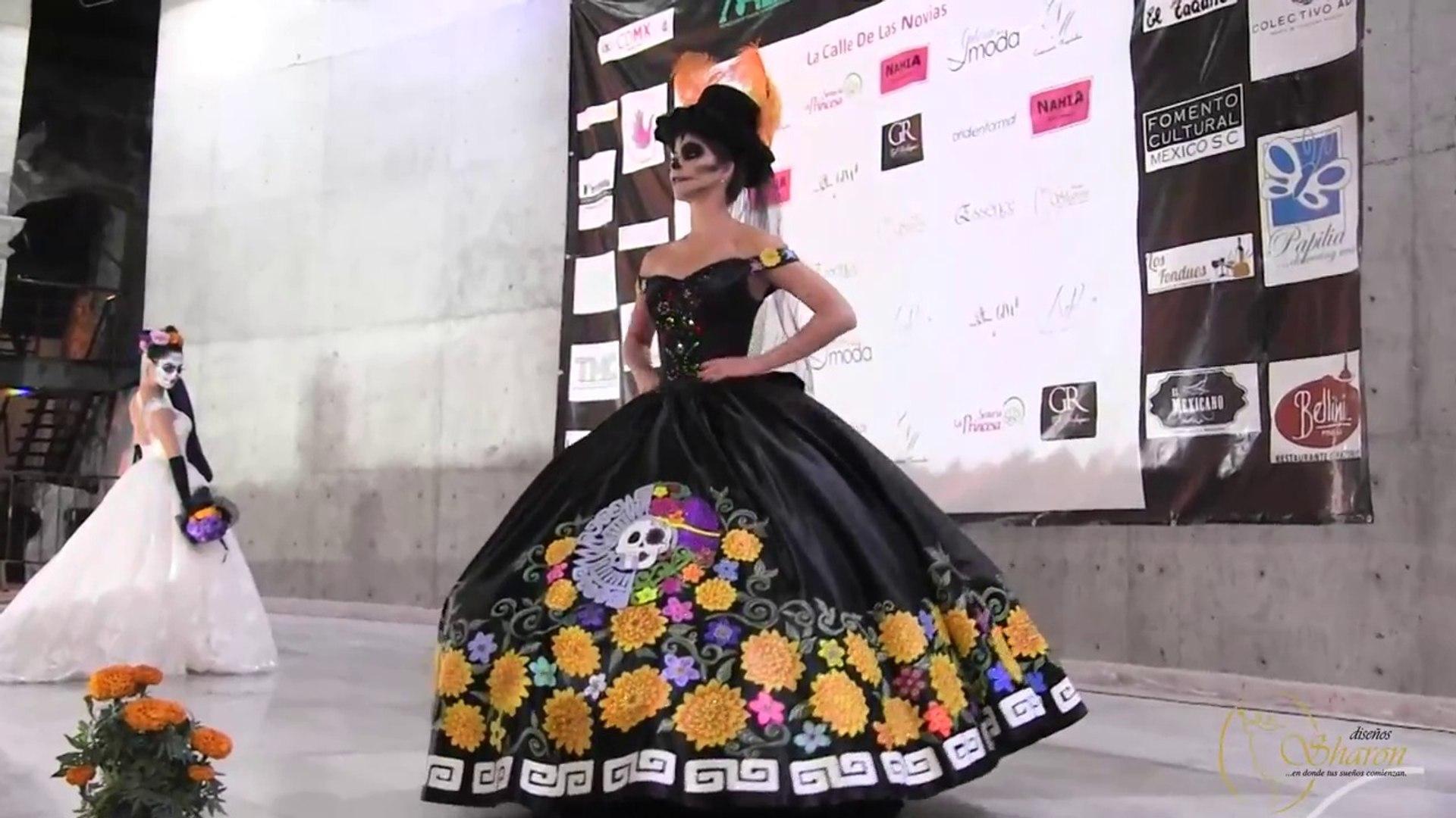 Presentación Diseños Sharon En La Catrina Fest 2017
