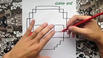 Como dibujar a puppet minecraft | how to draw puppet | five nights at freddys