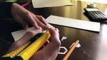 How To Make A Paper Fidget Spinner / Hand Spinner (SnowFlake Spinner)