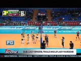 The Score: DLSU Lady Spikers sweep the UP Lady Maroons