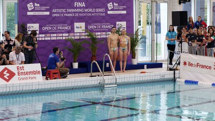 Duos techniques mixtes Open de France de natation artistique 2018 - FINA World Séries