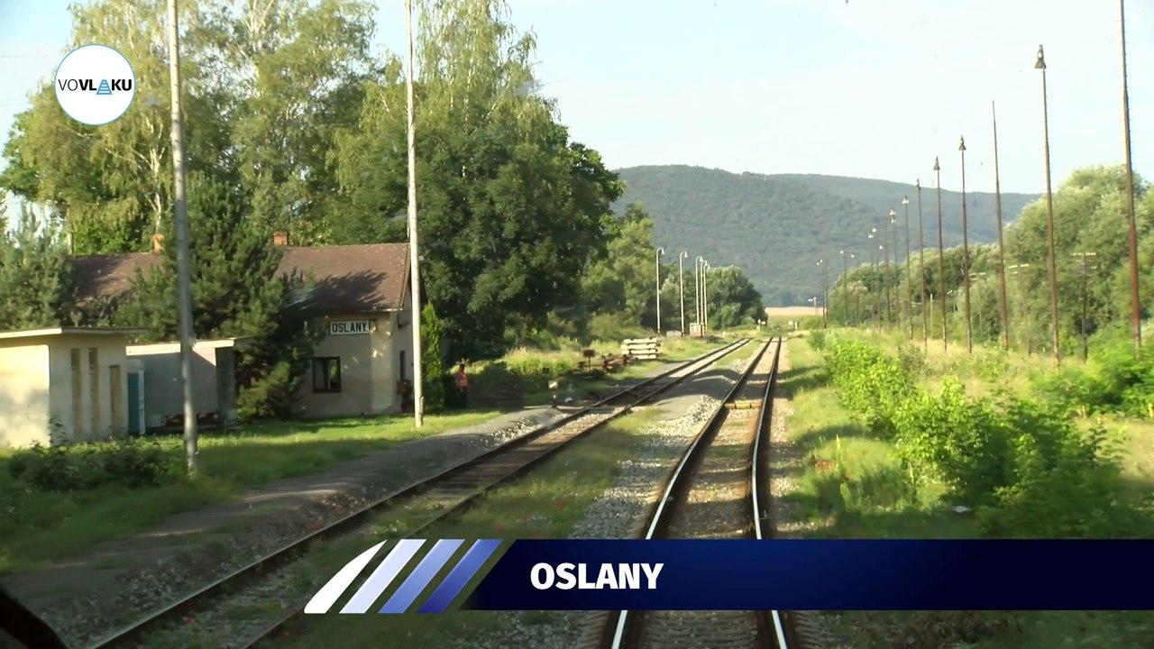 UNIKÁTNY VLAKOVÝ VIDEOPROJEKT: Trať 140 z Prievidze do Nových Zámkov
