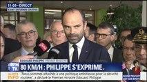 """80 km/h: """"Ce n'est pas un combat contre les Français mais pour la sécurité routière"""", déclare Philippe"""