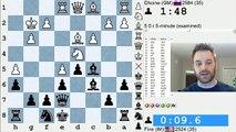 Blitz Chess #479: GM Dhoine vs. IM Bartholomew (Caro-Kann Defense)