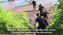 Immigration clandestine: opérations des gendarmes à Mayotte