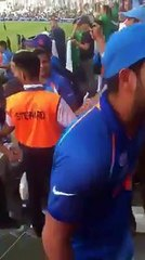 Watch: Mohammed Shami loses his cool with a Pakistani fan