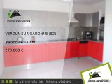 Maison A vendre Verdun sur garonne 150m2 - 82600 VERDUN SUR GARONNE