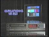 Grundig VS 520 videot Retro TV-mainos