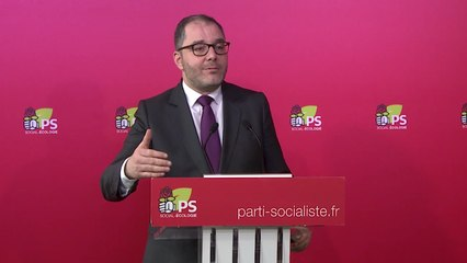 16 mars 2018 : point presse de Rachid Temal