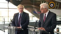 Boris Johnson 'heartened' by support from Poland on Russia