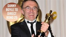 Danny Boyle dishes on the James Bond script & Bond girl