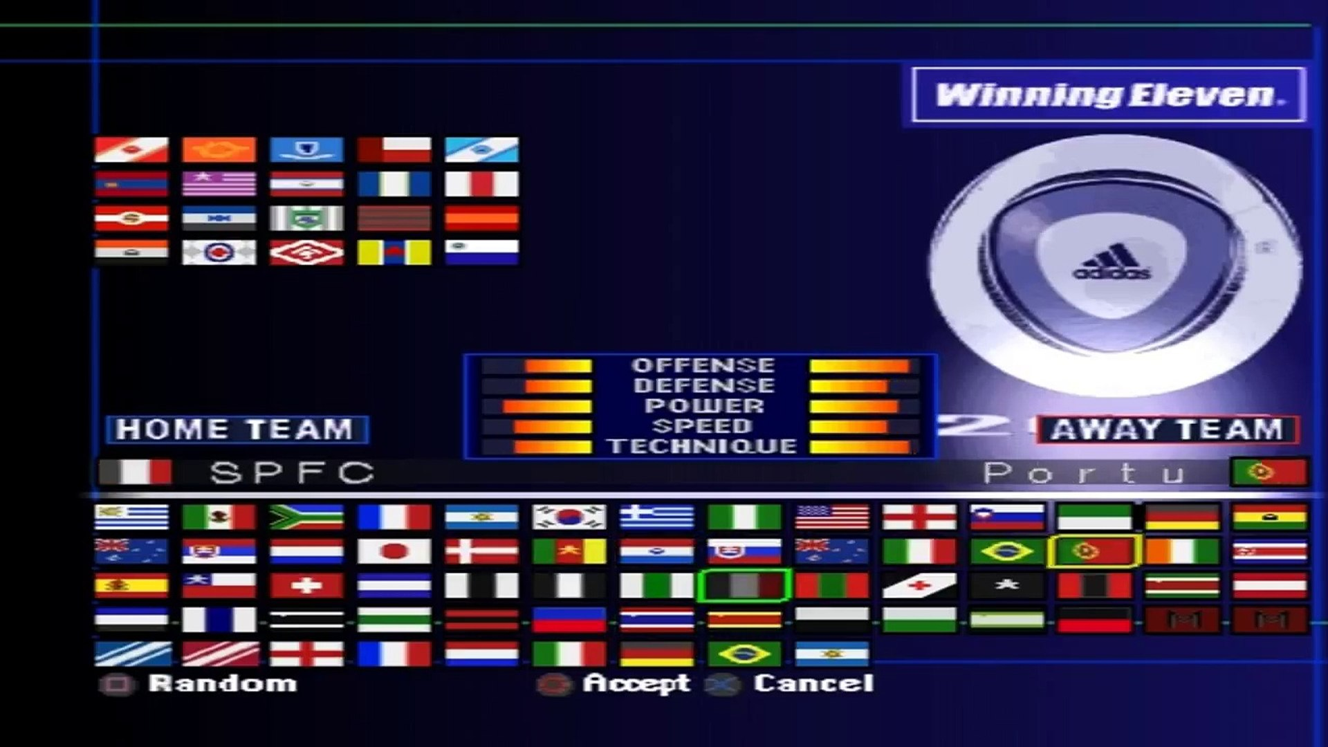 Winning Eleven new - Brasileirão (We2002) on pSX v1 13 - Playstation  (PSOne) Emulator