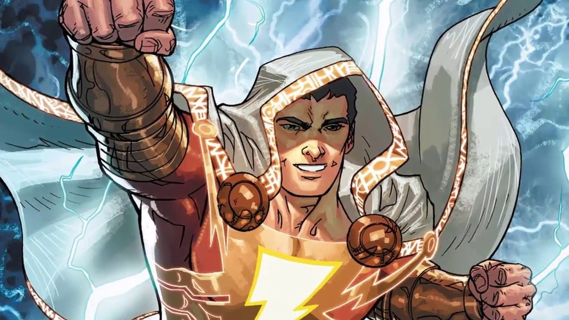 Shazam Movie News!!! Shazam Movie Suit Includes a Classic DC Character Cameo