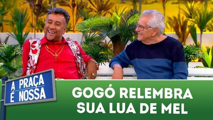 Paulinho Gogó relembra sua lua de mel