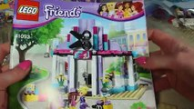 Salon fryzjerski - Lego Friends - 41093 - Unboxing