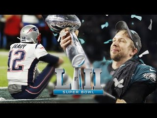 O SUPER BOWL 52 FOI INCRÍVEL! - Philadelphia Eagles X New England Patriots