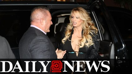 Stormy Daniels was physically threatened to keep quiet