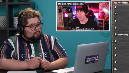 college kids react to top 10 most subscribed youtubers of all time
