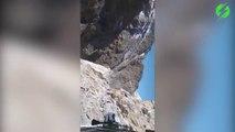 Cette route de montagne dans l'Himalaya va vous faire frissonner : vertige interdit