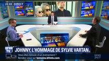 L'hommage de Sylvie Vartan à Johnny Hallyday (2/2)