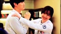 BTS Ahn Jae Hyun and Goo Hye Sun kissing scene BLOOD BEHIND THE