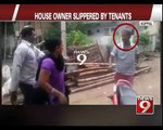 Koppal, house owner slippered by tenants - NEWS9