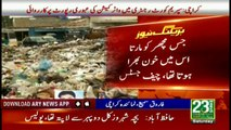 Where is Wasim Akhtar Chief Justice of Pakistan angrily asks looking at the garbage situation in Karachi