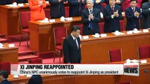 China's Xi Jinping reappointed as President... now with no term limits