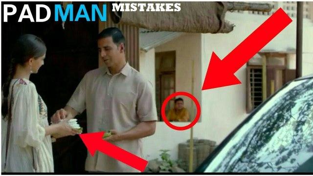 [ MISTAKES ] In Padman Movie | Akshay Kumar | mistakes in padman  movie | padman mistakes